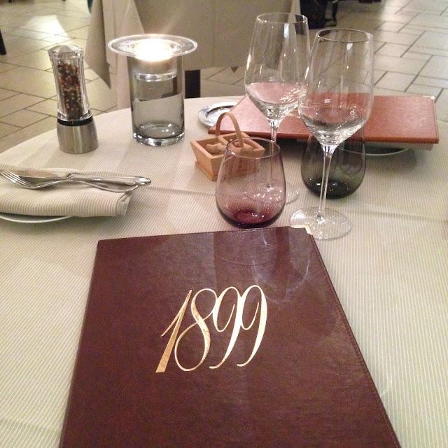 Le 1899 restaurant gastronomique proche deauville normandie