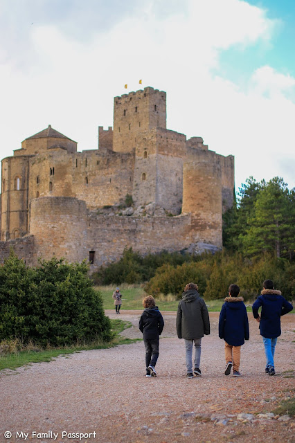 Aragón Huesca con niños