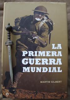 Portada del libro La Primera Guerra Mundial, de Martin Gilbert