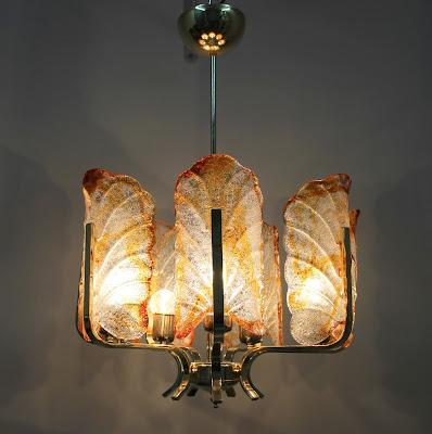 Lámpara Orrefors.