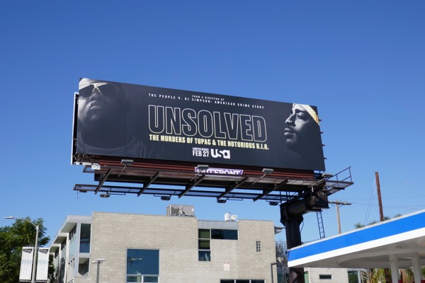 Unsolved series premiere billboard