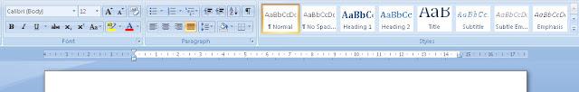 Cara membuat Daftar Isi dengan Microsoft Office Word 2007