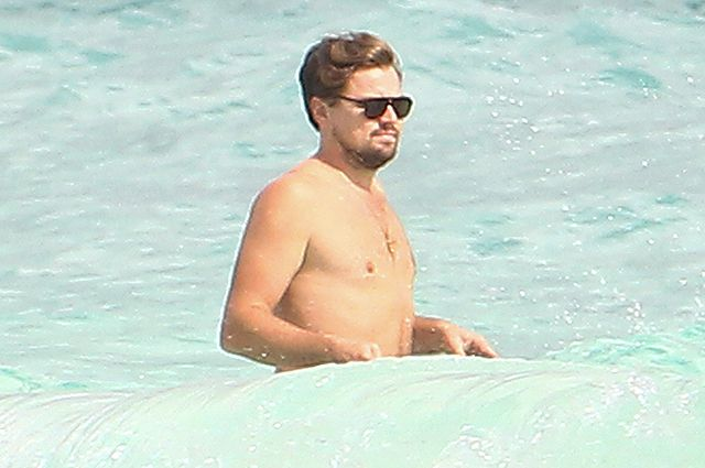Leonardo DiCaprio is resting in Cancun