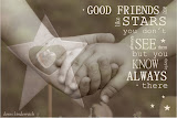good friends are...