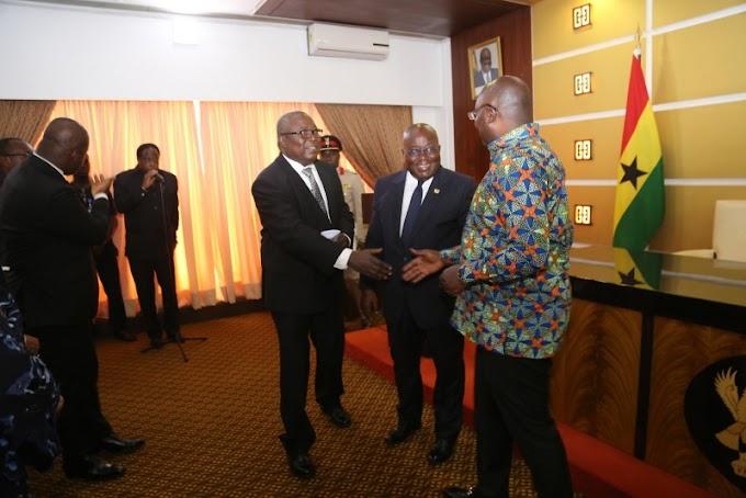 President Akufo-Addo Swears In Martin Amidu As Special Prosecutor