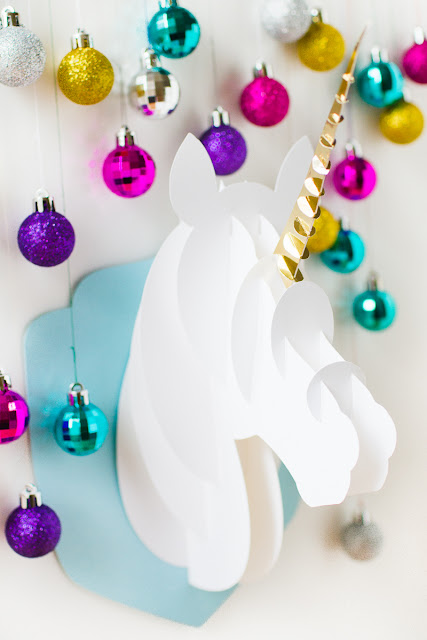 How to make a faux taxidermy unicorn craft for room decor
