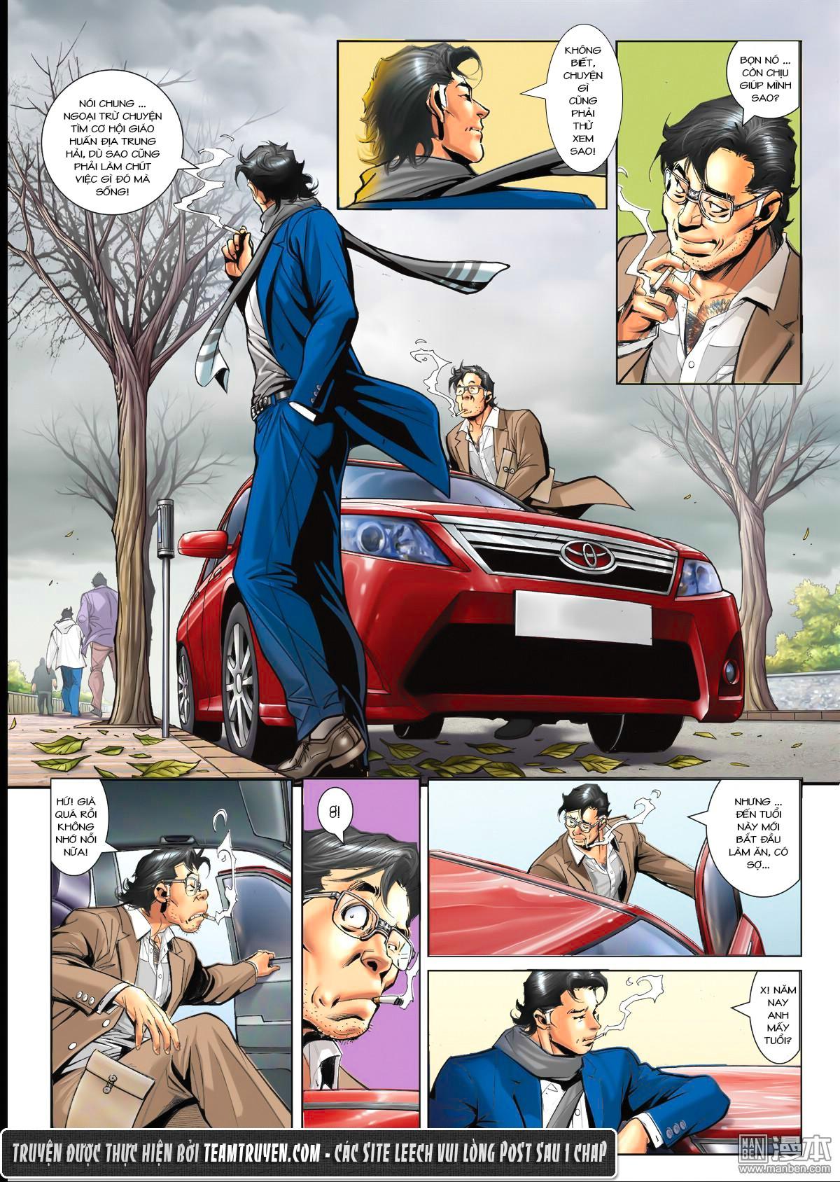 Người Trong Giang Hồ NetTruyen chap 1564 - Trang 18