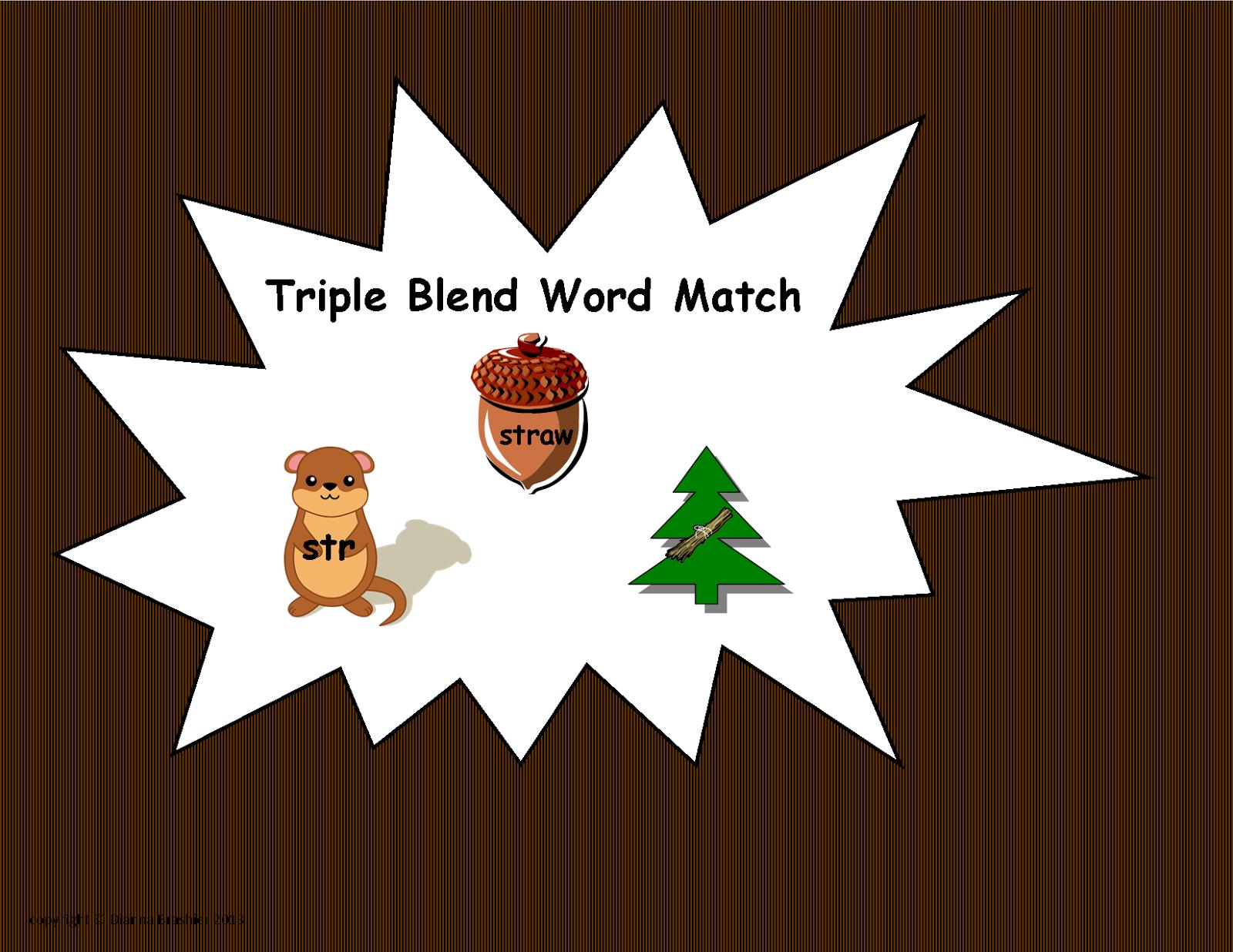 Teachers R Us Triple Consonant
