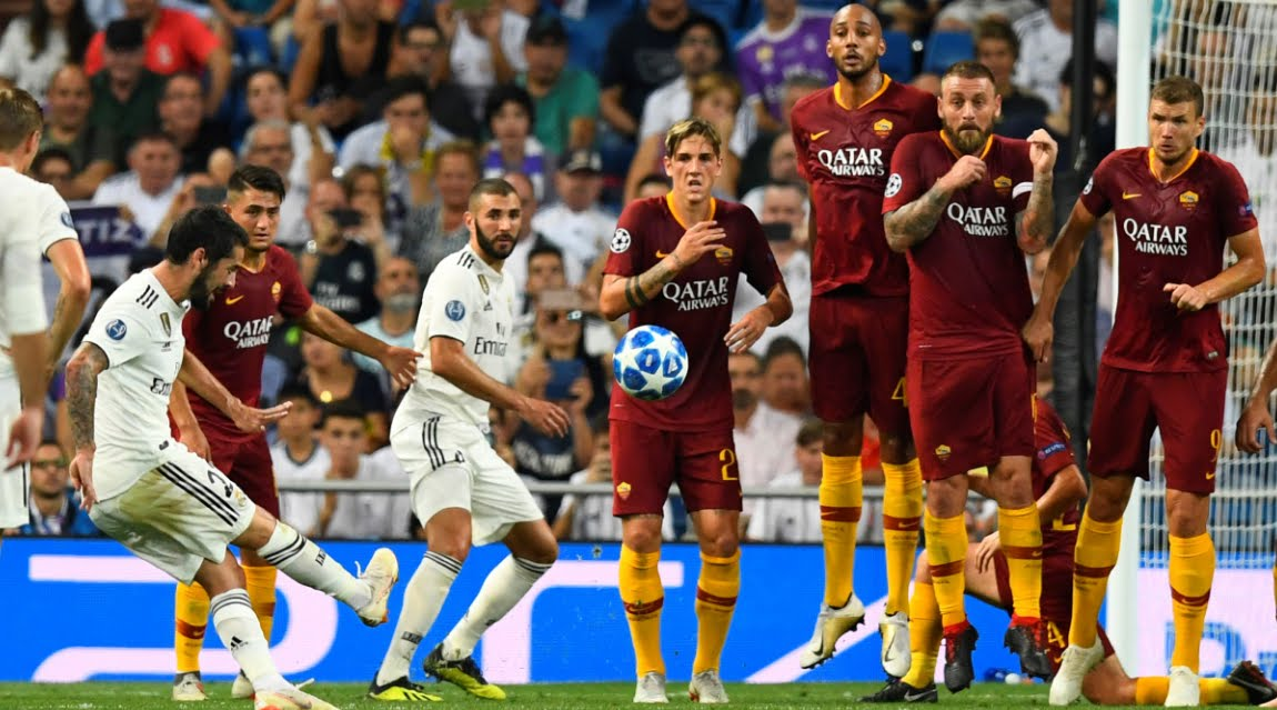 DIRETTA ROMA-Real Madrid Streaming Gratis su Sky