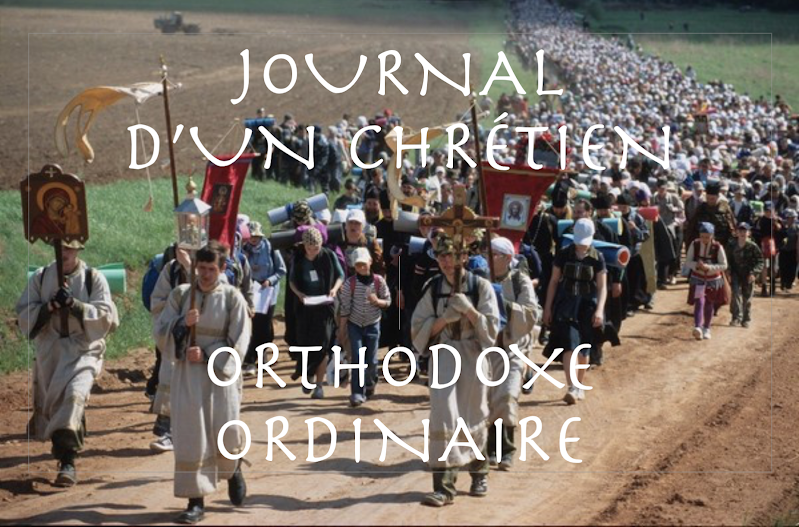Journal d'un orthodoxe ordinaire