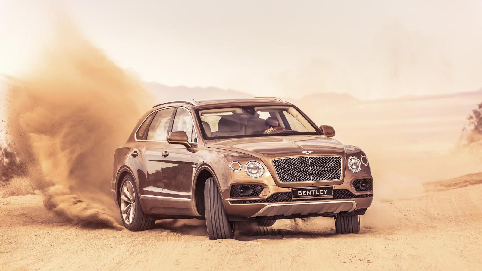 Bentley Bentayga - SUV hạng sang hoàn hảo nhất thế giới