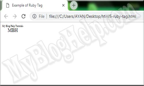 ruby tag example