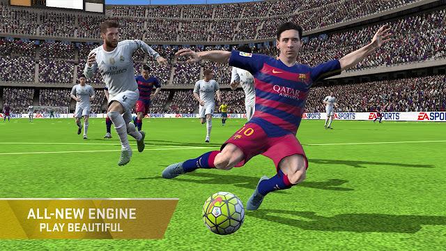 تحميل لعبة كرة القدم فيفا 2016 FIFA 16 Soccer APK