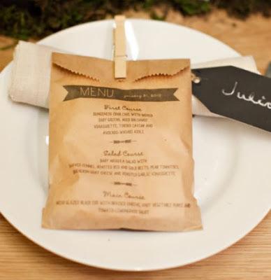 sac en papier personnalise menu