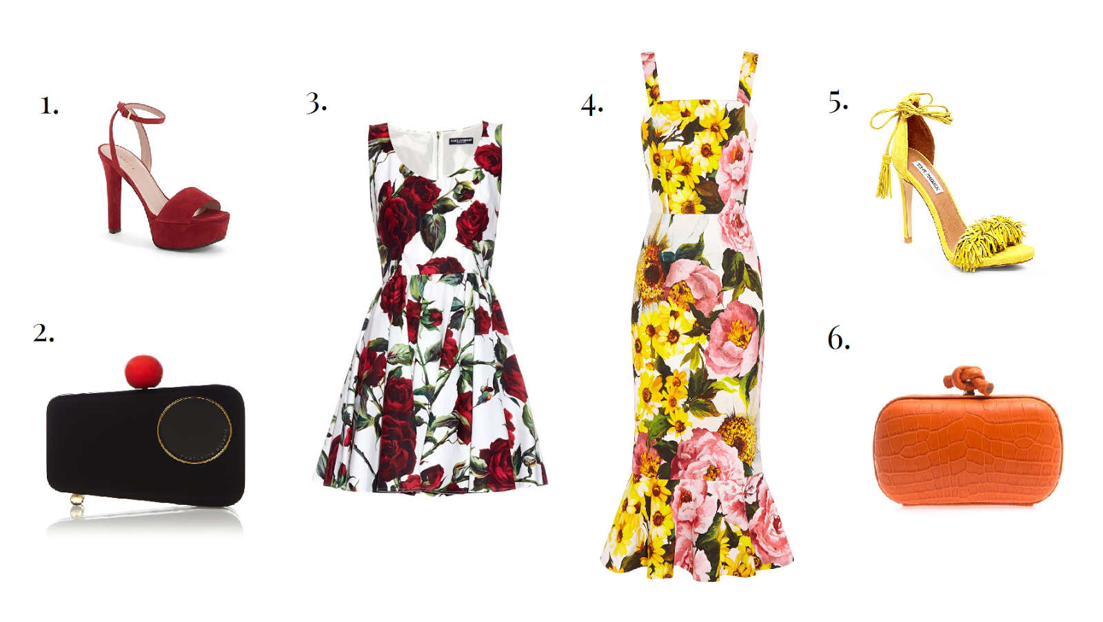 What to Wear to A Wedding - Flower Dresses