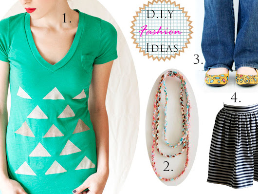 Stylish Sunday - DIY Fashion Roundup