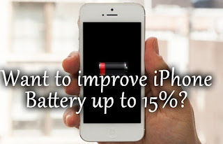 Want to increase you iPhone battery Life
