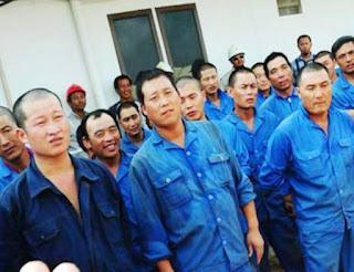 Ternyata Gaji Buruh Ilegal China Jauh Lebih Besar Dari Pada Gaji Lokal ini buktinya - Commando