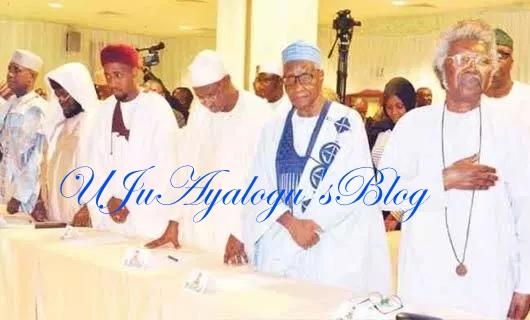 Igbo quit notice: Presidency releases video of Osinbajo's meeting with Northern elders [WATCH]