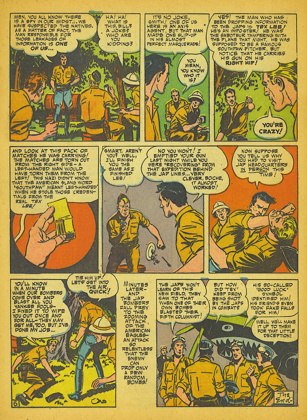 Read online Action Comics (1938) comic -  Issue #51 - 55