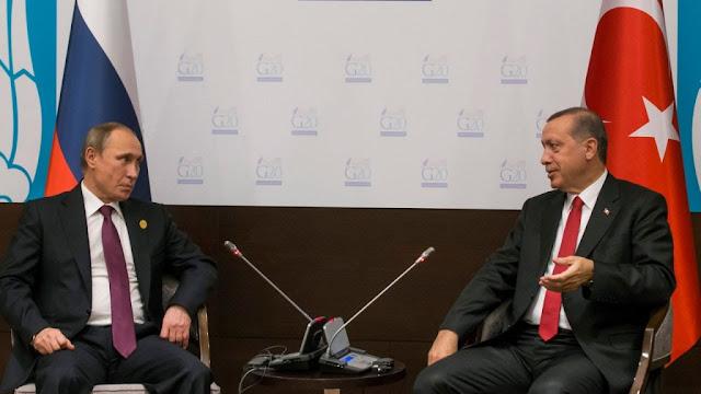 Ο Πούτιν «ευθυγράμμισε» τηλεφωνικά τον Ερντογάν