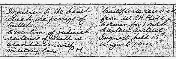GRO Death Registration for Josef Jakobs.