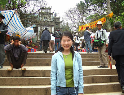 Gate of Thien Tru Pagoda, Hanoi