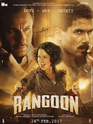 Rangoon (2017) Movie Poster