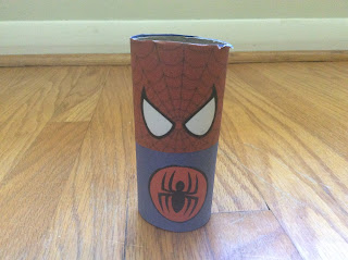 spiderman craft for kids