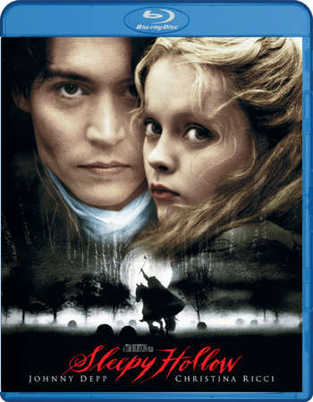 Poster Of Sleepy Hollow 1999 Dual Audio 720p BRRip [Hindi - English] Free Download Watch Online