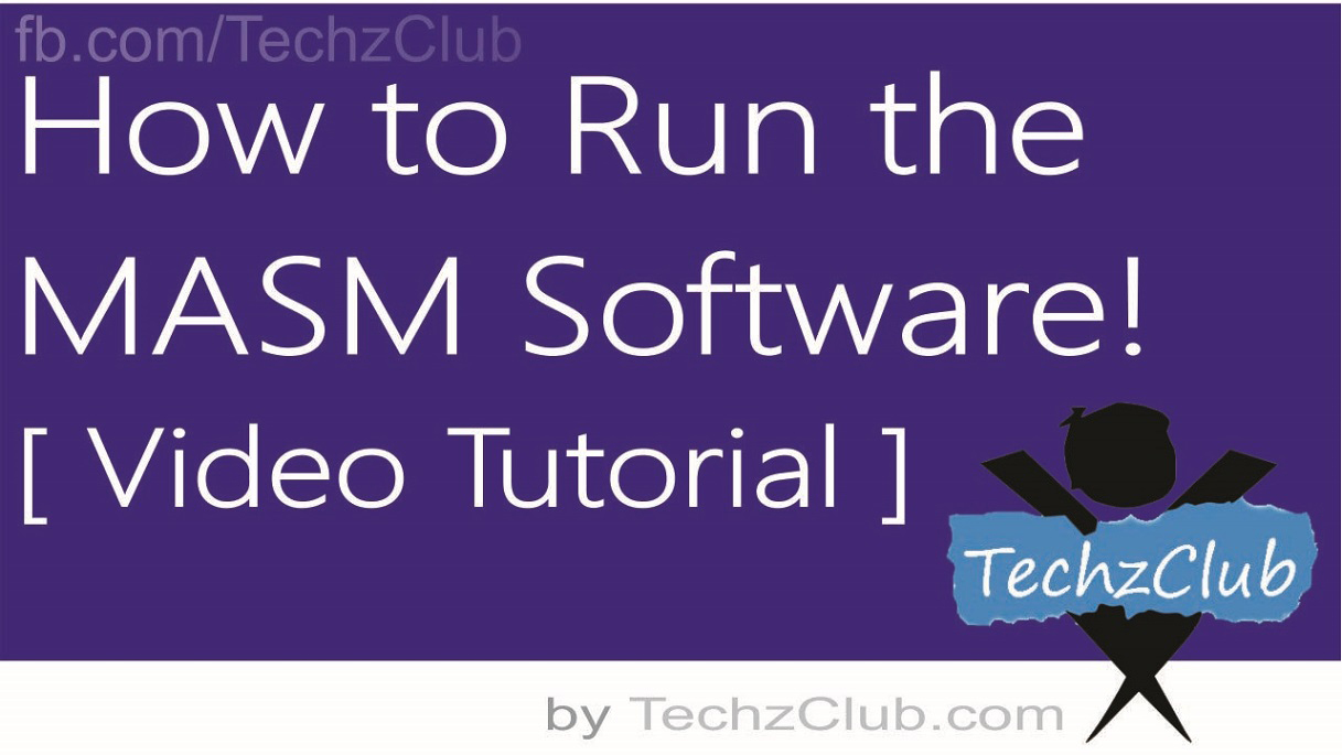 How to Run or Install MASM Software on Windows (32 or 64-bit) using DOSBox [with Video Tutorial]
