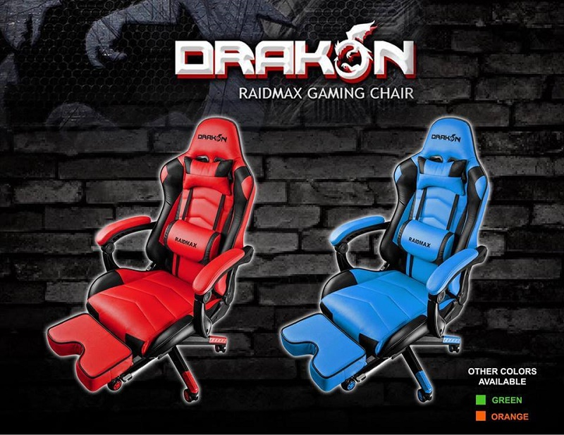 Raidmax Drakon Gaming Chairs Now in PH; Price Starts at Php7,895