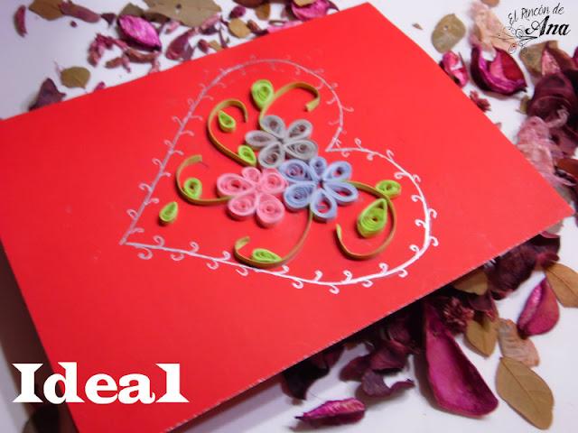 3 ideas de tarjetas para San Valentín