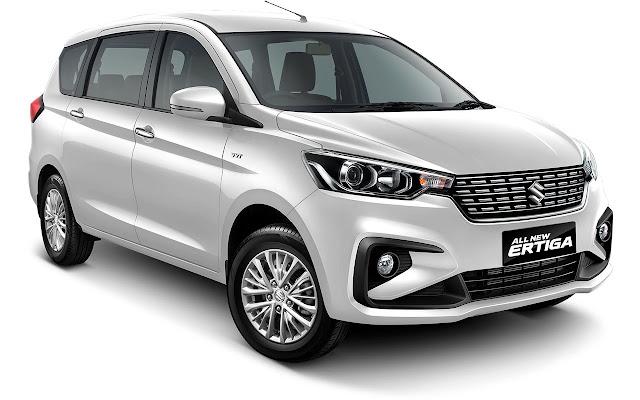 All New Maruti Suzuki Ertiga white pics 2018