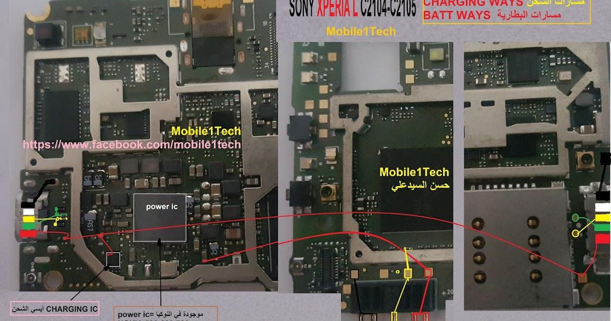 sony xperia l c2104 c2105 full schematic mobile1tech rh mobil1tech blogspot com sony xperia m2 schematic diagram sony xperia z ultra circuit diagram