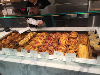 Delicious bakery items at Sandholt