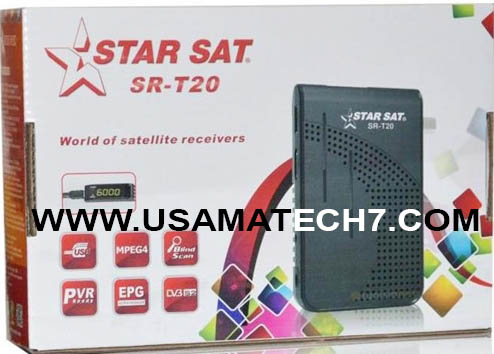 STARSAT SR-T20 V2.53 HD RECEIVER NEW PVU SOFTWARE - Usama Tech