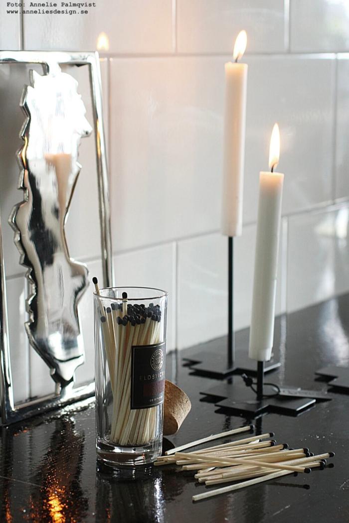 annelies design, webbutik, webbutiker, webshop, nätbutik, inredning, inredningsbutik, butik, varberg, eldstickan, tändstickor, sverigunderlägg, underlägg, grytunderlägg, ljusstake, ljusstakar, candle cross,