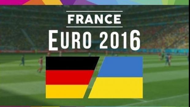 Urmariti meciul Germania - Ucraina Live pe DolceSport 1 si ProTV