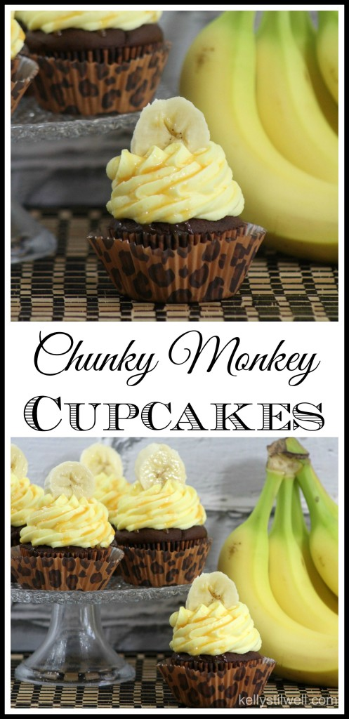Chunky Monkey Cupcake Recipe