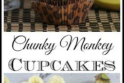 Chunky Monkey Cupcake Recipe