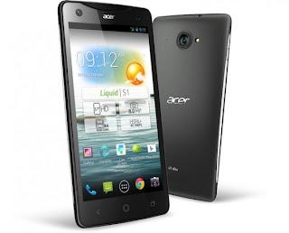 Harga Dan Spesifikasi HP Acer Liquid S1