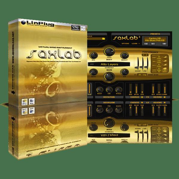 LinPlug SaxLab v2.2.1 Full version