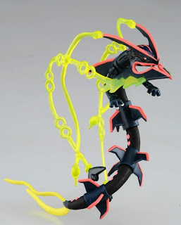 Shiny Black Mega Rayquaza figure hyper size Takara Tomy Monster Collection MONCOLLE 2015 movie promo
