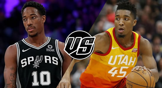 Live Streaming List: San Antonio Spurs vs Utah Jazz 2018-2019 NBA Season