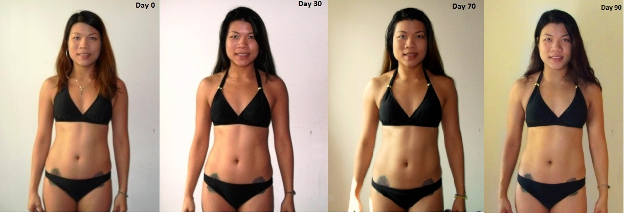 Do it for yourself!!!!!!: 0-90 days of P90X Lean results