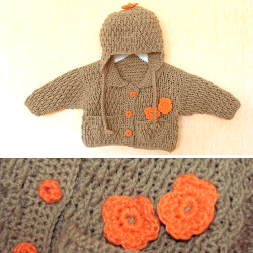 Baby Jacket & Hat - Free Pattern