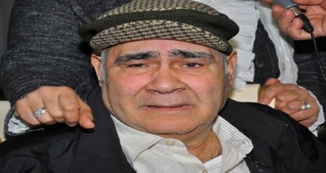 الصورة الأخيرة لسيد زيان قبل وفاته بايام لا تصدق  الله يرحمه ..