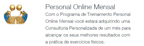 Personal Trainer em São Paulo - Consultoria Online