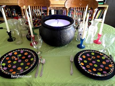 Hocus Pocus easy dinner party ideas